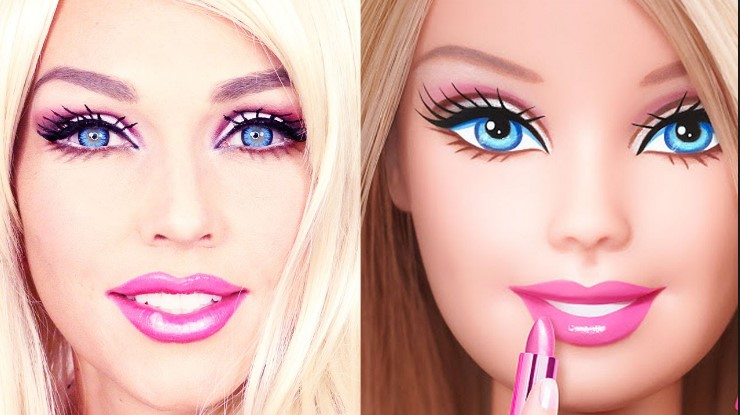 Be The Real Barbie Doll, With this Makeup technique