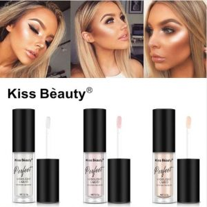 Makeup Face Brightener Concealer Liquid Highlighter Primer Bronzer Face Glow Cosmetics