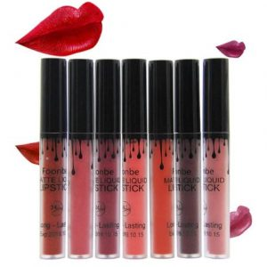 Brand Matte Liquid Lipstick Lips Makeup Moisturizer Lip Gloss Waterproof Make up Cosmetics